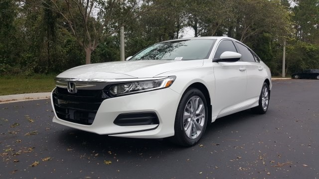 Honda Accord Lx >> New 2018 Honda Accord Lx 1 5t