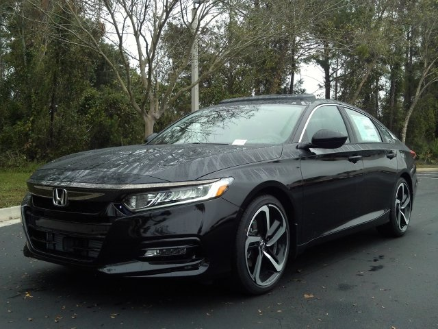 Honda Accord Sport >> New 2019 Honda Accord Sport 2 0t