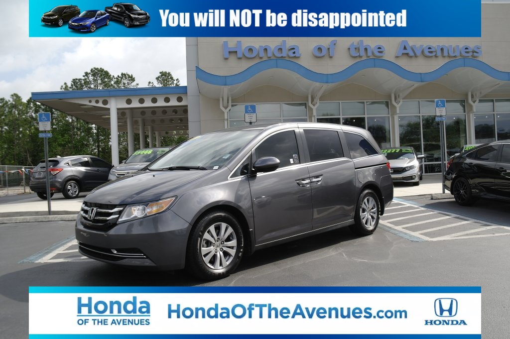 Certified Pre-Owned 2017 Honda Odyssey EX