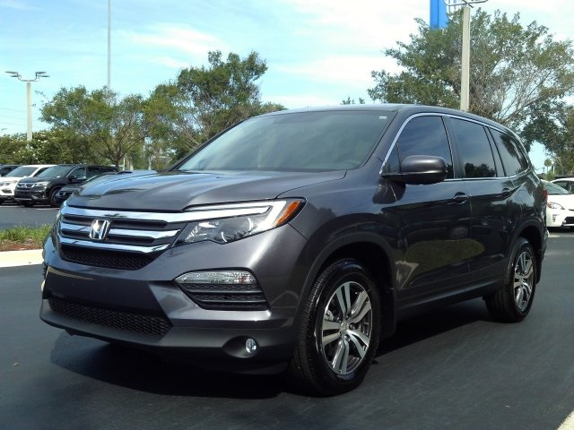 Certified Pre Owned 2018 Honda Pilot Ex 4d Sport Utility In