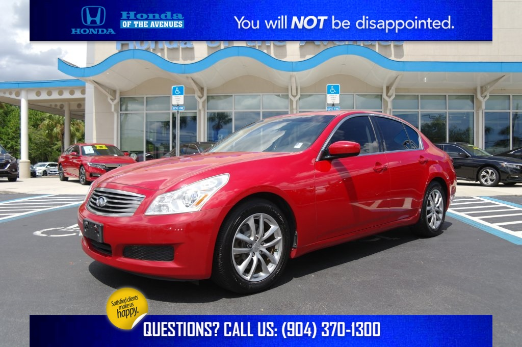 Pre-Owned 2009 INFINITI G37 Journey